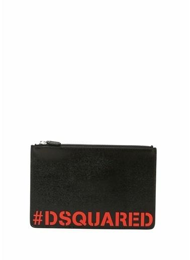 Dsquared2 Clutch / El Çantası Kırmızı